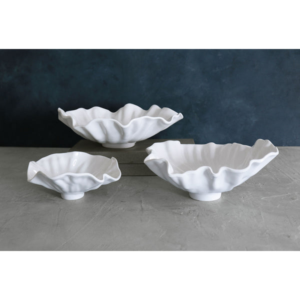 VIDA Bloom White Bowl