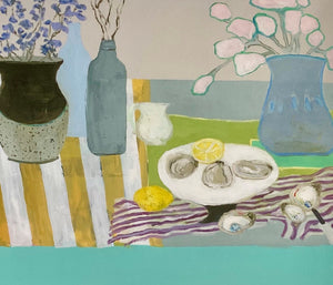 Anne Harney - Bluebells and Oysters