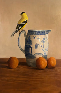Ginny Williams - Blue Willow, Gold Finch