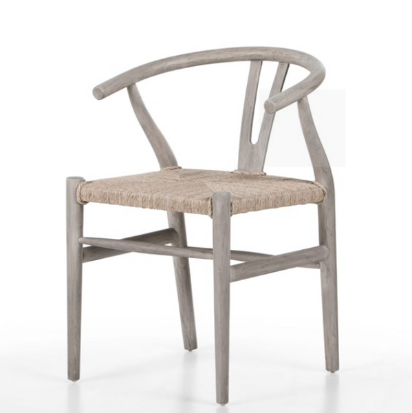 Weathered Wishbone Dining Chair