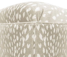 Load image into Gallery viewer, Cashmere Antelope Ottoman