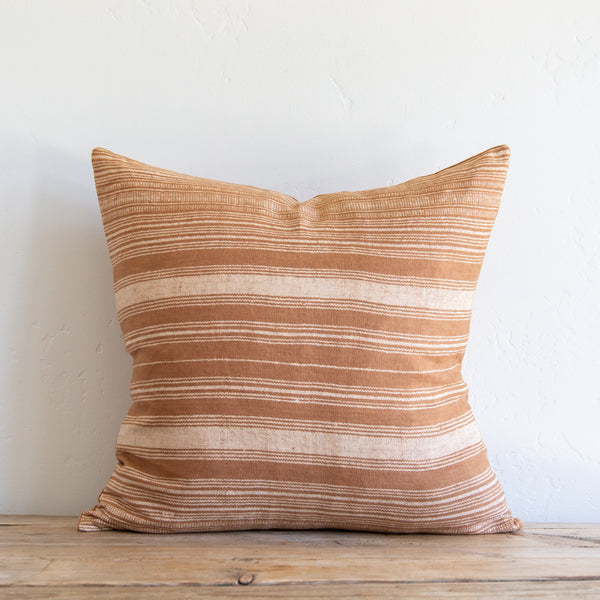 Terracotta Stripe Pillow