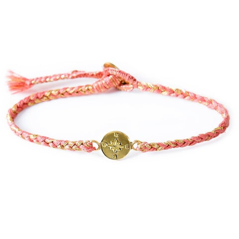 The Brave Collection Compass Bracelets