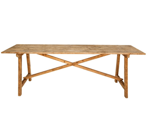 Rustic Console or Dining Table