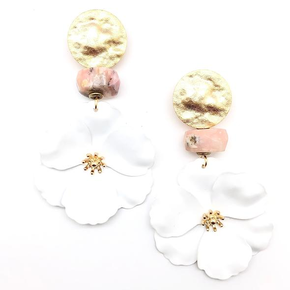 Shiver and Duke Daisy Earrings