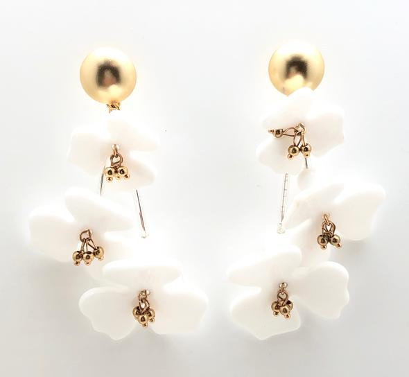 Shiver and Duke Jasmine Earrings
