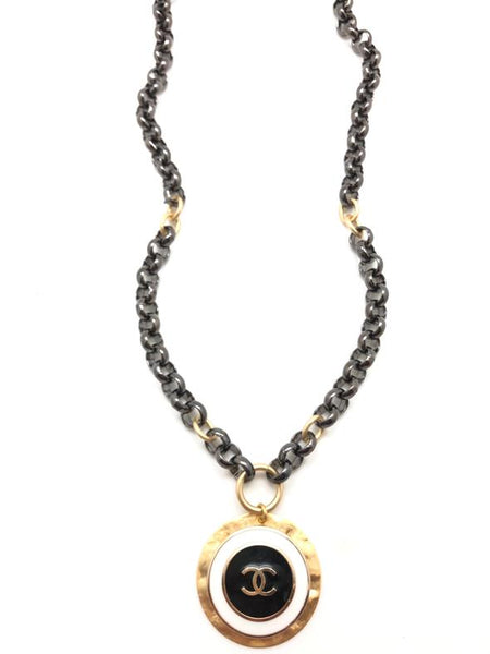 Shiver and Duke Mixed Designer Chain Necklace