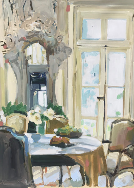 Laura L. Shubert - Sunlit Dining Room