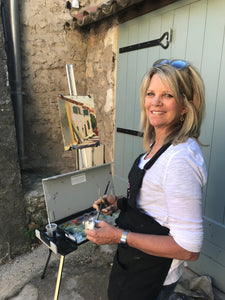 Painting in Provence