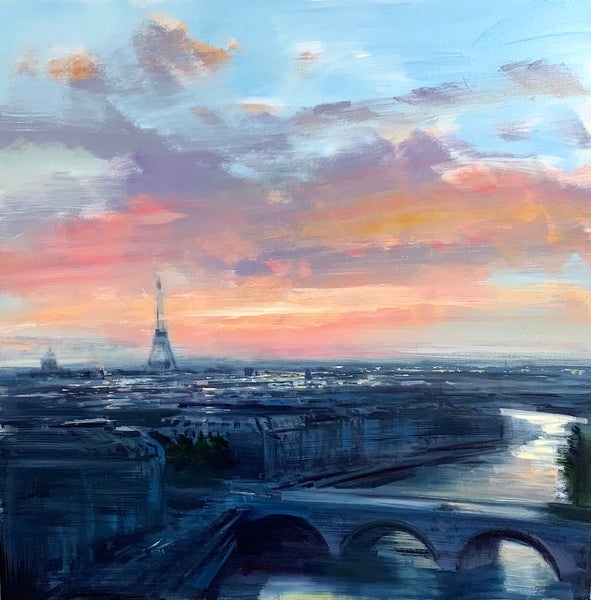 Craig Mooney - Morning Light in Paris