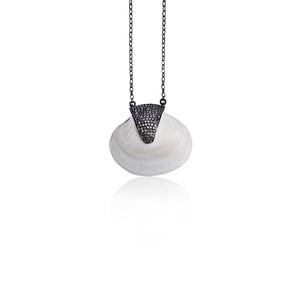 S. Carter Designs Baby Clam Shell Necklace