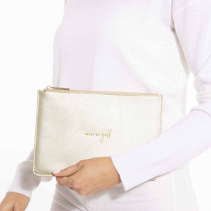 Heart of Gold Perfect Pouch