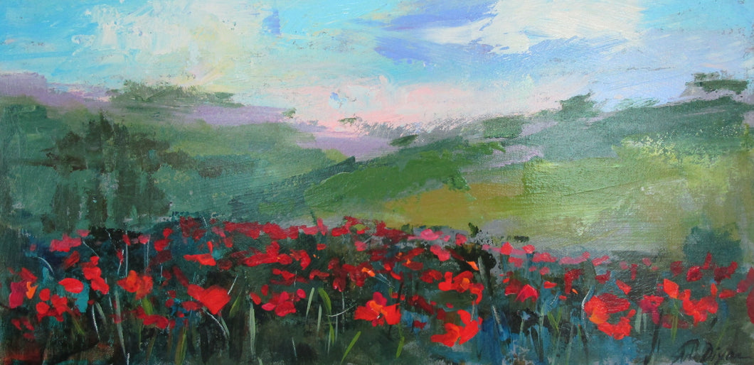 Amy Dixon - Poppies 104