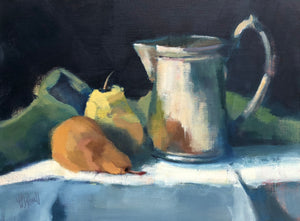 Lesley Powell - Tankard and Pears