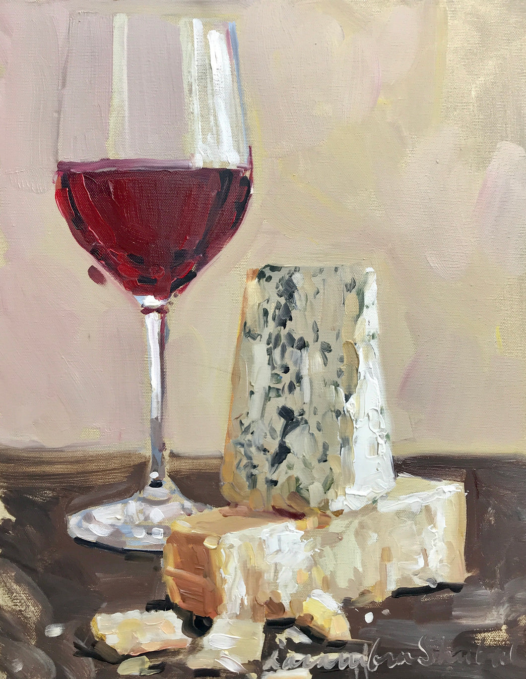 Laura Shubert - Red Wine and Cheese