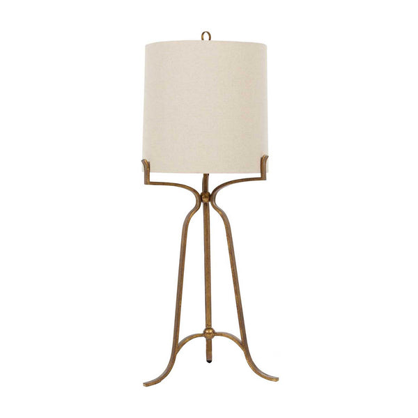 Lamp Gold Tripod Base