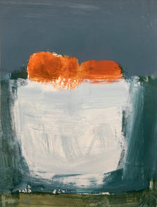 Ellen Rolli - Small White Vessel with Clementines