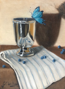 Ginny Williams - Still Life with Blue
