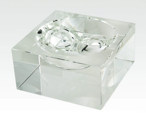 Crystal Centerpiece Bowl