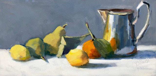 Lesley Powell - Tankard and Fruit