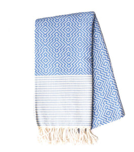 Moderne Towel in Denim