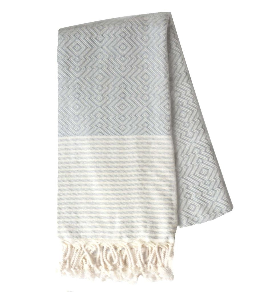Moderne Towel in Gray