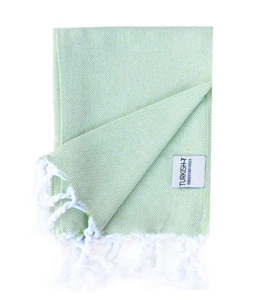Original Hand-Loomed Hand Towel in Lime