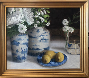Ginny Williams - Composition in Blue and White