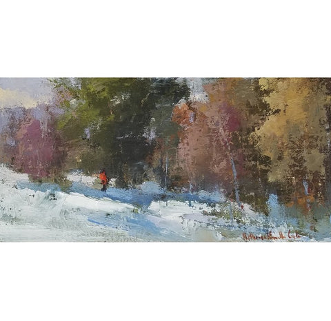 Bethanne Cople - Winter Memories Towards the Blue Ridge Mountains