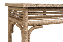 Load image into Gallery viewer, Abaca Rope Console Table