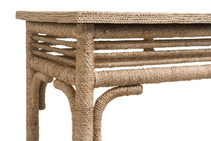 Abaca Rope Console Table