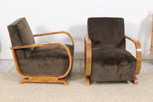 Load image into Gallery viewer, 1950's Fautefil Chair with Burled Wood