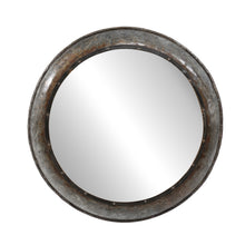 Load image into Gallery viewer, Round Metal Mirror