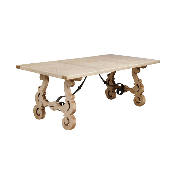 Bleached Monastery Table