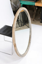 Load image into Gallery viewer, Round Wood Mirror