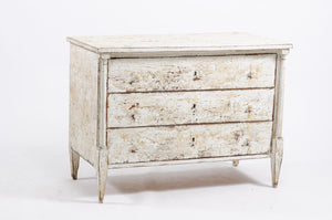 Painted White Louis XVI Commode