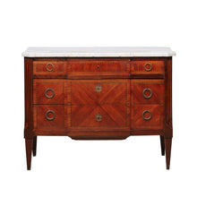 Load image into Gallery viewer, Napoleon III Commode with White Mable