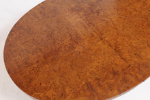 Load image into Gallery viewer, Burled Walnut Louis XVI-Style Oval Dining Table