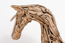 Load image into Gallery viewer, Rustic Horse Head Sculpture