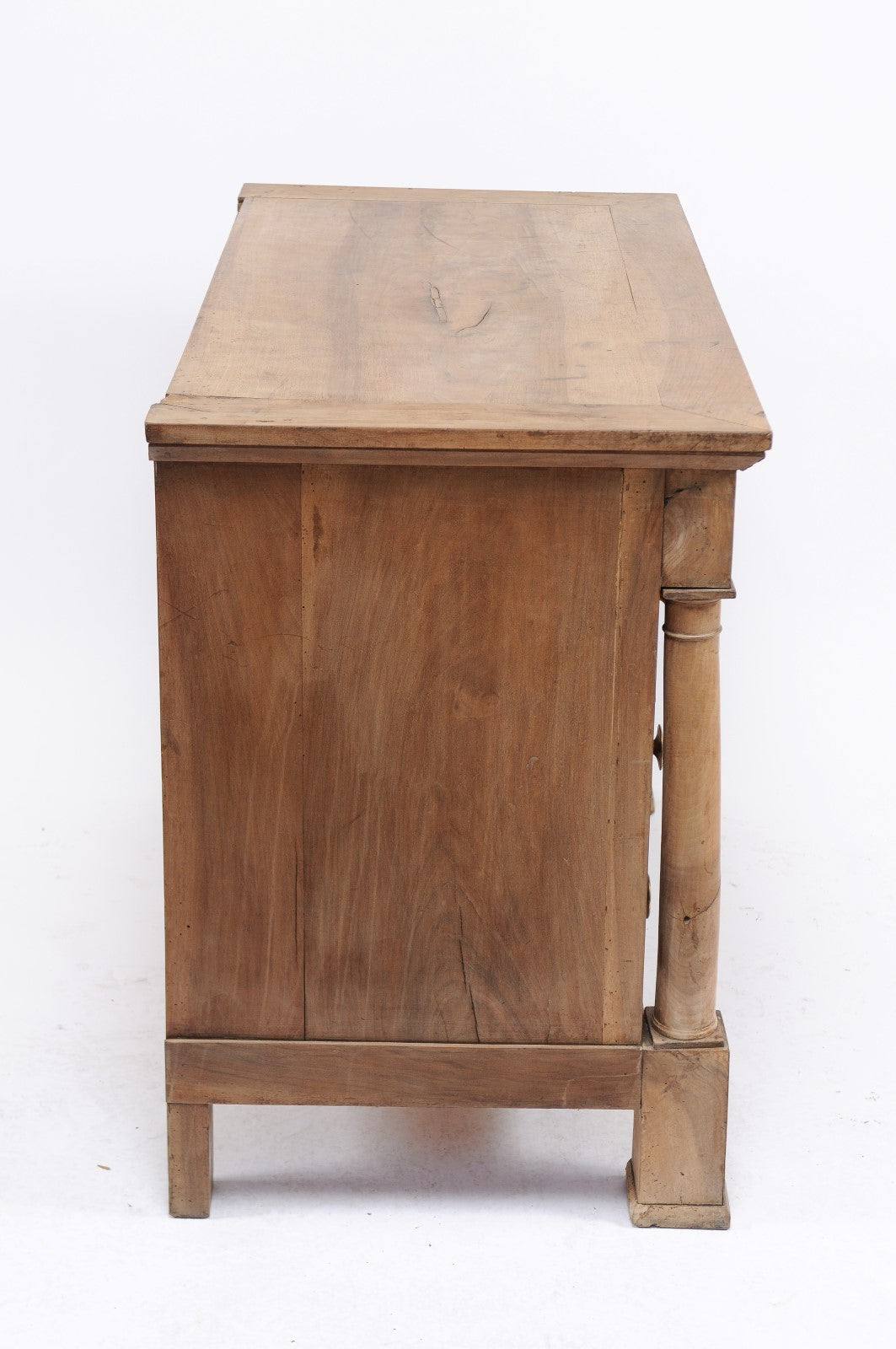 Stripped Empire Style Commode