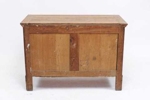 Stripped Empire-Style Commode
