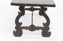 Load image into Gallery viewer, 19th Century Monastery Table with Iron Base