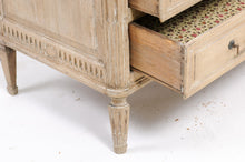 Load image into Gallery viewer, 19th Century Louis XVI-Style Stripped Oak Commode