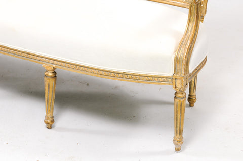 Swedish-Inspired Louis XVI Settee