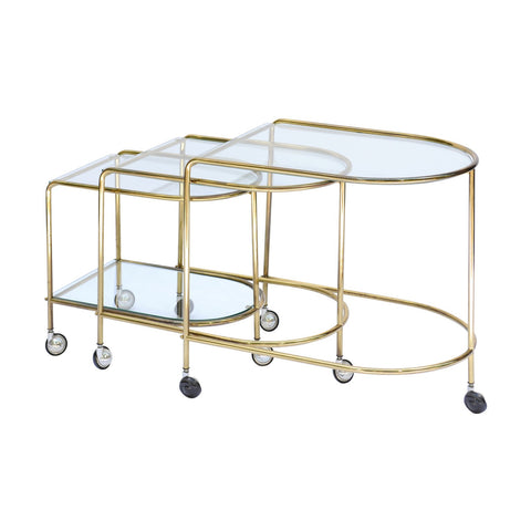 French Gigogne Nesting Tables