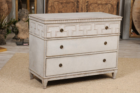 19th Century Painted Swedish Commode