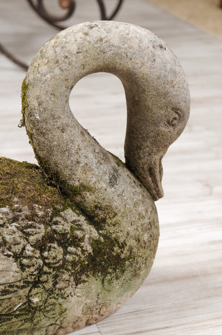 Stone Swan - PLEASE CALL FOR ASSISTANCE