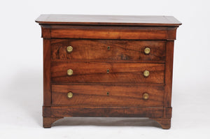 Walnut Louis Philippe Commode