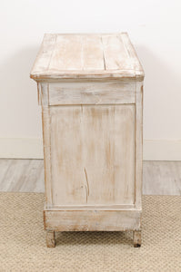 louis xvi style blanched commode