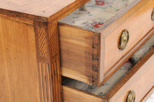 Load image into Gallery viewer, Pine and Walnut Louis XVI-Style Commode